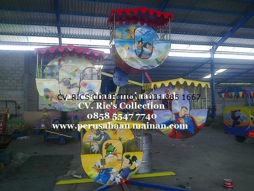 kincir mini isi 4 jual murah mainan anak sidoarjo 0813 3030 0774 rics collection