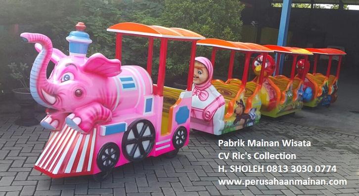 kereta gajah pake accu